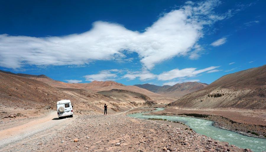 Pamir Highway: BGAO Permit, Hochebene
