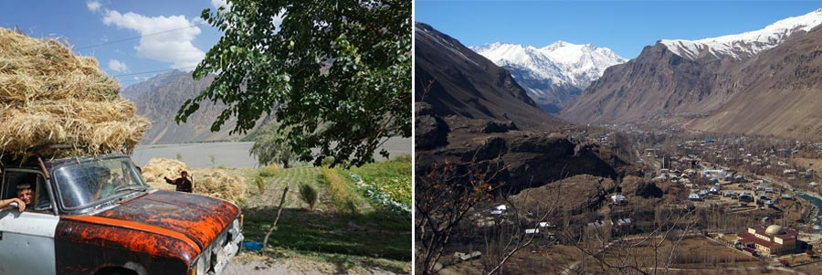 Pamir Highway: Kalaikum, Rushan, Khorogh
