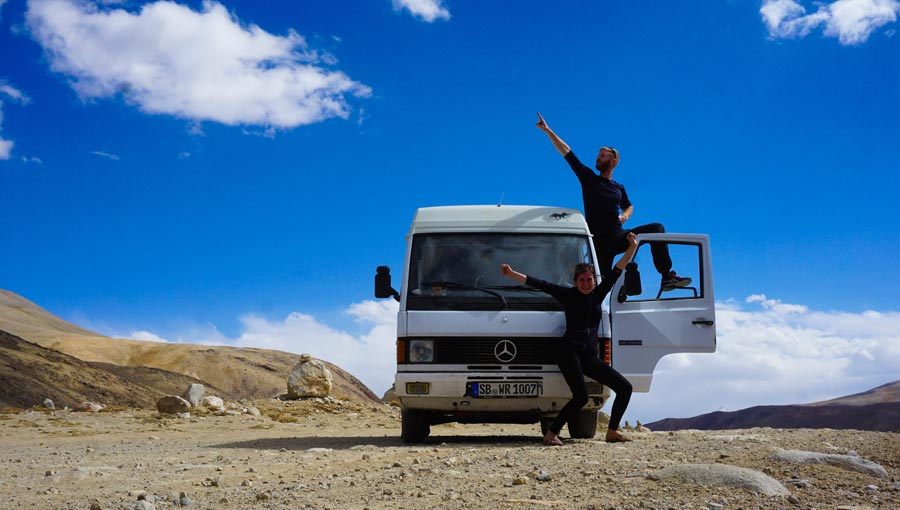 Pamir Highway: Kargush Pass, Wakhan Valley