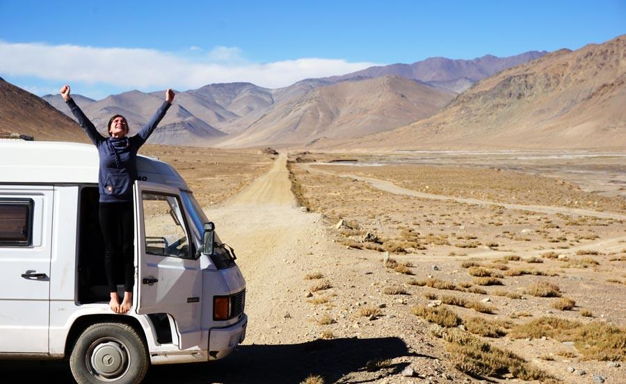 Pamir Highway: M41 Fernstraße Bergregion