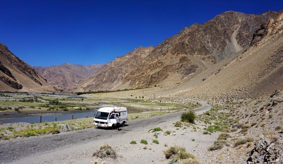 Pamir Highway: Osh, Sarytasch Kirgisistan