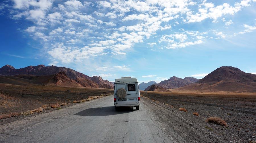 Pamir Highway: Murghab, Dushanbe, Osch