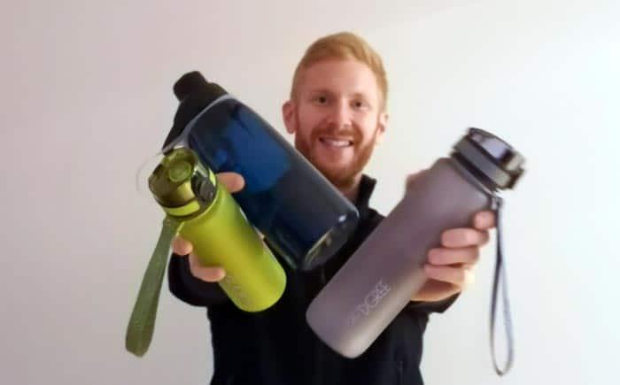 Trinkflasche Kunststoff: Plastikflasche BPA-frei