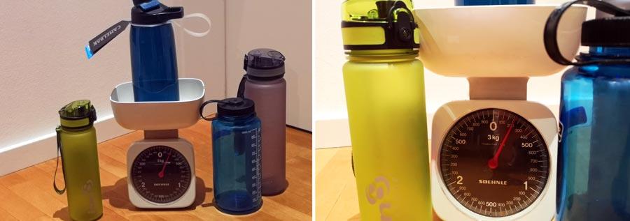 Trinkflasche Kunststoff: Gewicht, Tritan, BPA-frei