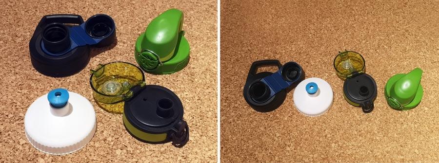 Trinkflasche Kunststoff: Verschluss, Trinkverschluss