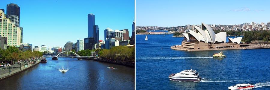 Visum Australien: eVisitor ETA, Melbourne und Sydney