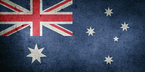 Visum Australien: Land, Flagge