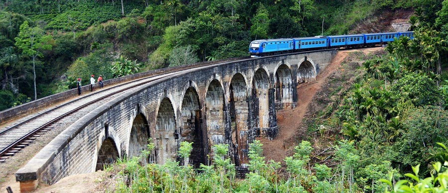 Visum Sro Lanka: Nine Arches Bridge