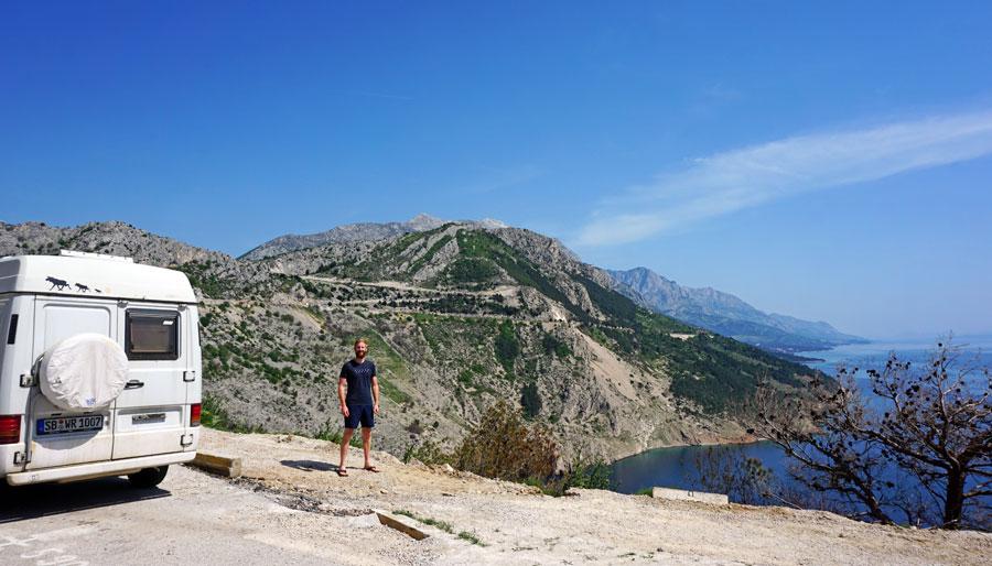 Camping Griechenland: Anreise Balkan, Meer