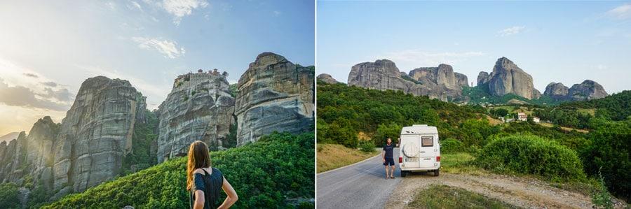 Camping Griechenland: Meteora