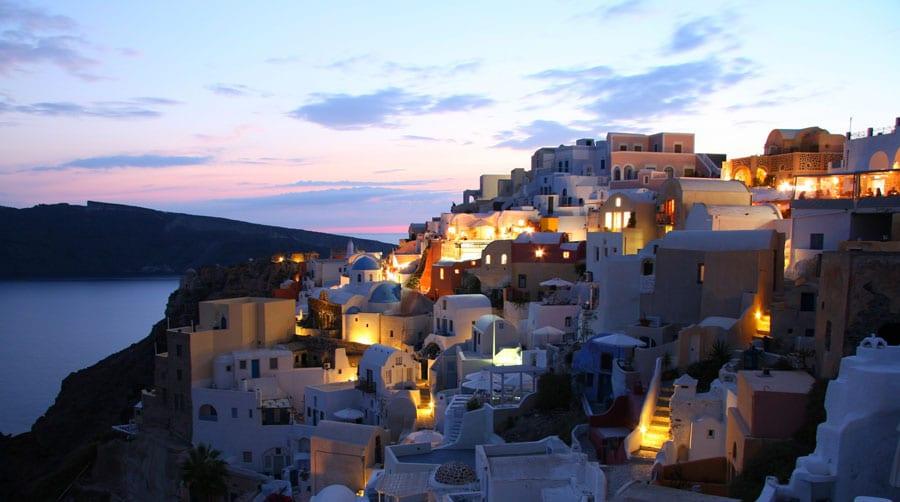 Camping Griechenland: Santorin Insel