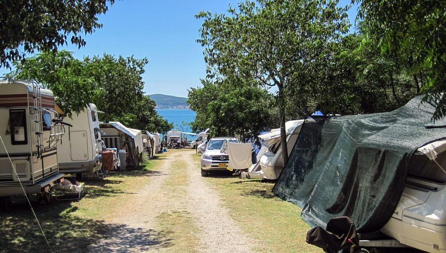 Camping Kroatien: Kvarner Bucht, Küste Istrien