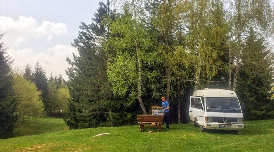Camping Kroatien: Korana Camping, Plitvicer Seen