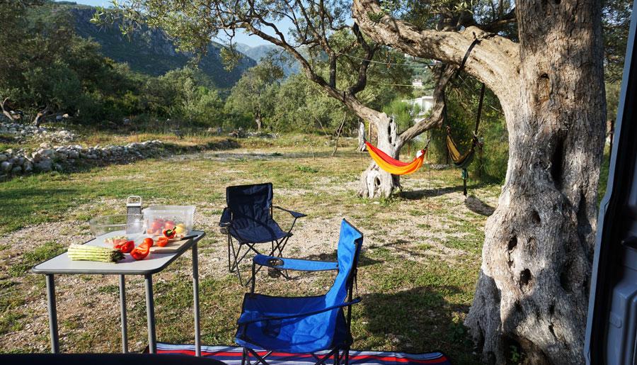 Camping Kroatien: Küste, Meer, Natur