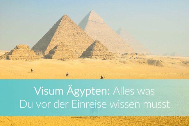Visum Ägypten: Weltreise Blog