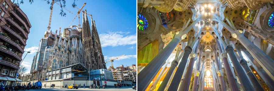 Barcelona Sehenswürdigkeiten: Sagrada Familia Kathedrale