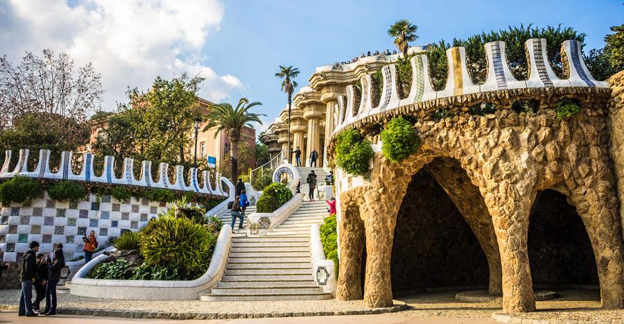 Barcelona Sehenswürdigkeiten: Güell Park