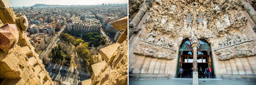 Barcelona Sehenswürdigkeiten: Sagrada Familia