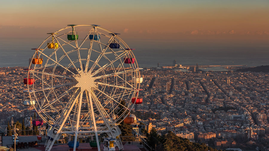 Barcelona Sehenswürdigkeiten: Tibidabo