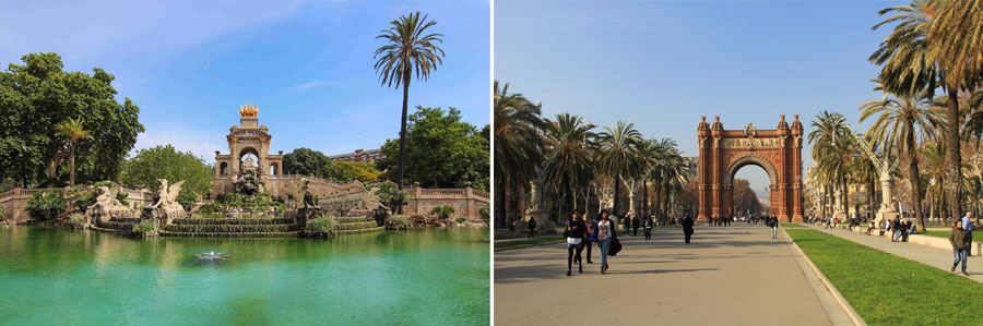 Barcelona Sehenswürdigkeiten: Triumphbogen