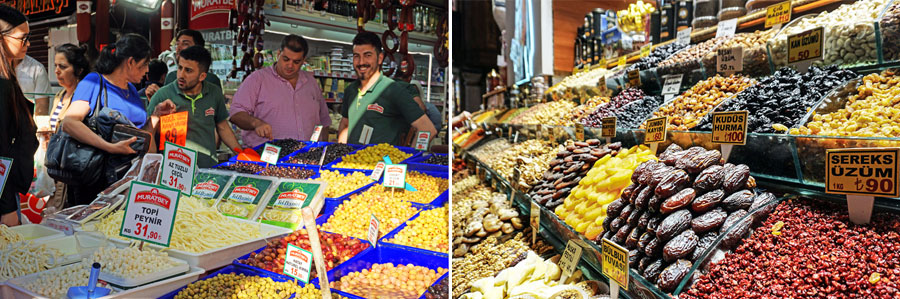 Istanbul Sehenswürdigkeiten: Ägyptischer Markt