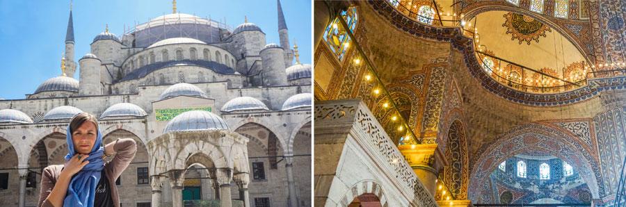 Istanbul Sehenswürdigkeiten: Blaue Moschee