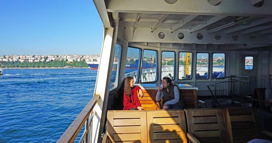 Istanbul Sehenswürdigkeiten: Fähre Bosporus