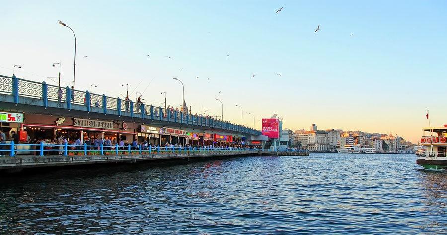 Istanbul Sehenswürdigkeiten: Galata Brücke