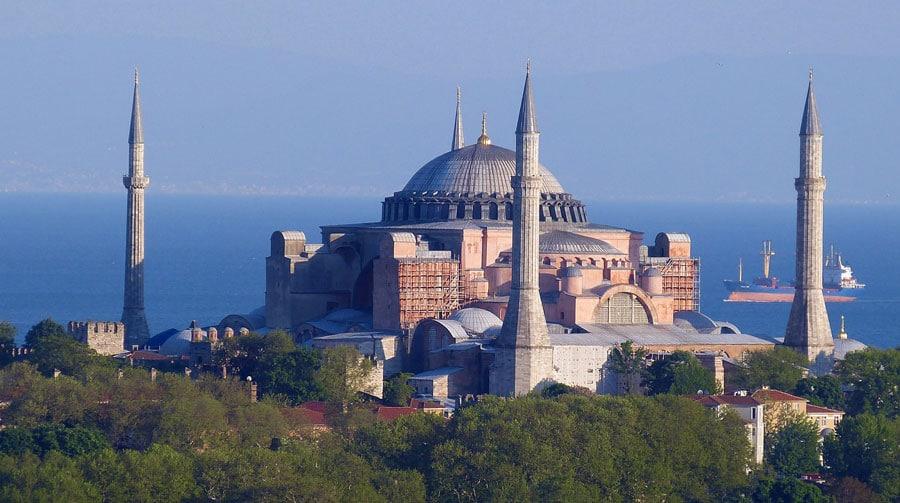 Istanbul Sehenswürdigkeiten: Hagia Sophia, Moschee