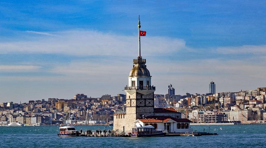 Istanbul Sehenswürdigkeiten: Leanderturm