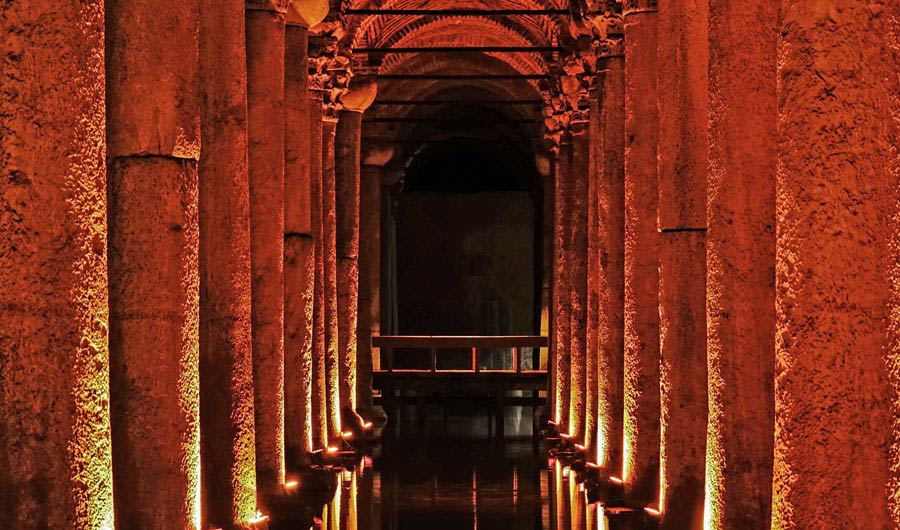 Istanbul Sehenswürdigkeiten: Zisterne, Cisterna, Basilica