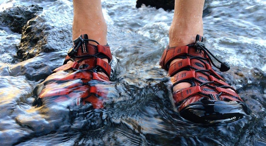 Trekkingsandalen: Outdoor-Sandale, Sportsandale