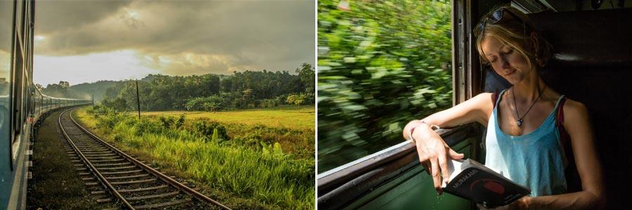 Sri Lanka Sehenswürdigkeiten: Zugfahrt