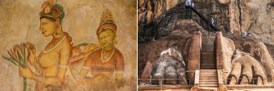 Sri Lanka Sehenswürdigkeiten: Sigiriya, UNESCO Weltkulturerbe