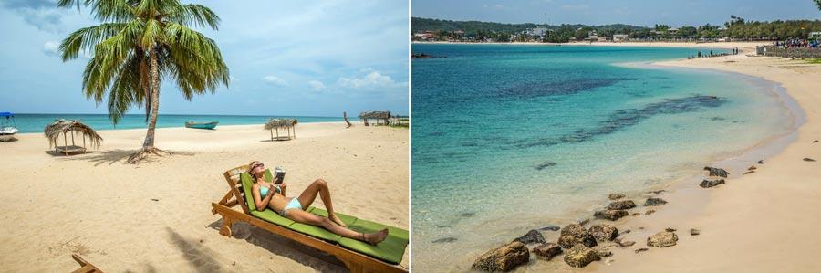 Sri Lanka Sehenswürdigkeiten: Trincomalee Strand
