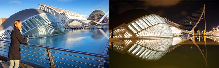 Valencia Sehenswürdigkeiten: Ciudad de las Artes, Hemisferic
