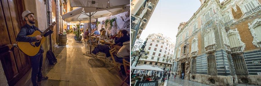 Valencia Sehenswürdigkeiten: Stadtviertel El Carmen, Architektur