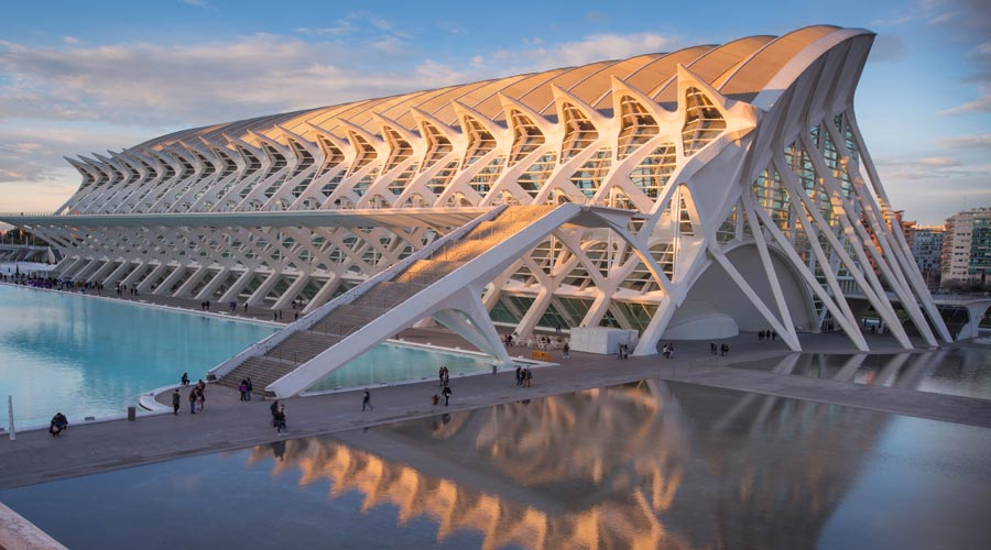 Valencia Sehenswürdigkeiten: El Museu de les Ciencies, Principe Felipe