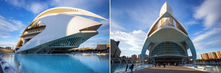 Valencia Sehenswürdigkeiten: El Palau de les Arts, Reina Sofia