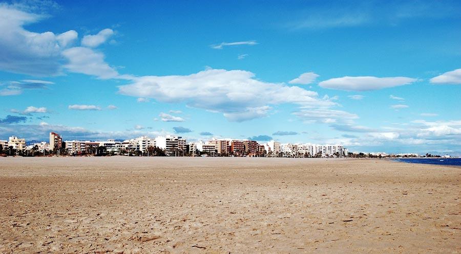 Valencia Sehenswürdigkeiten: Mittelmeer, Strand