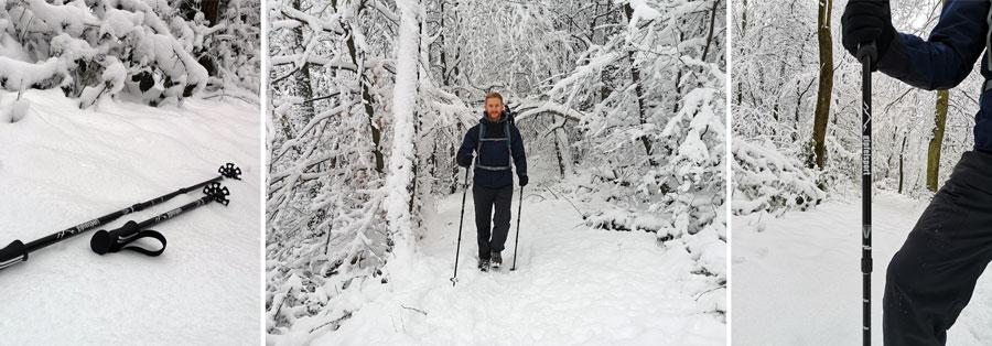 Wanderstöcke: Gipfelsport Griffe, Packmaß