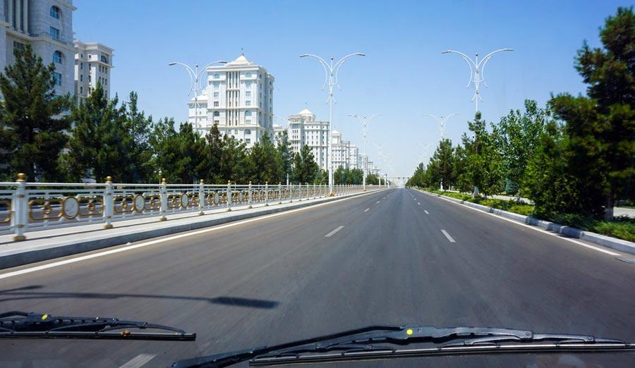Ashgabat: Hauptstadt Turkmenistan