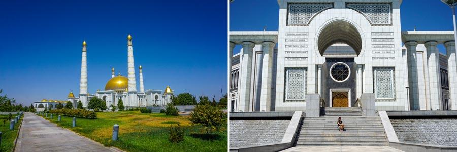 Ashgabat: Turkmenbashi Ruhy Moschee