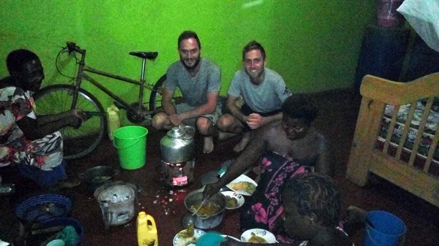 Couchsurfing: Afrika, Kennenlernen