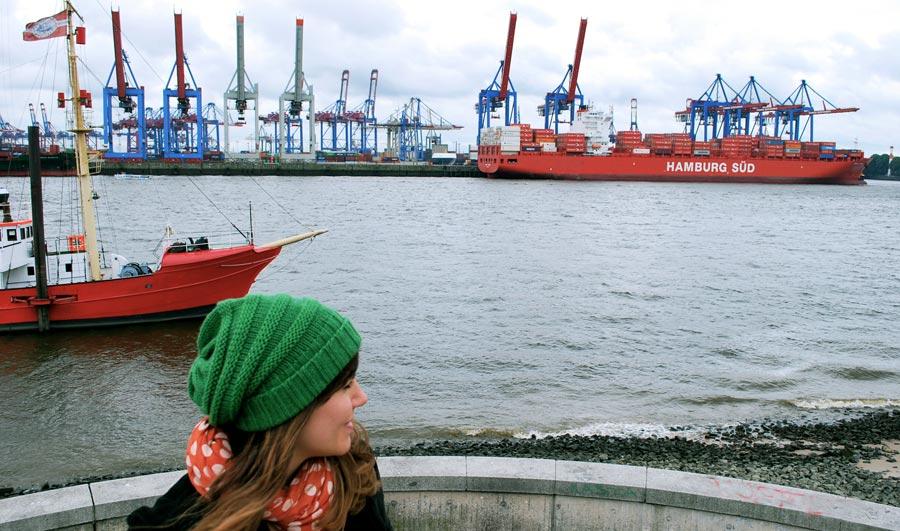 Hamburg Sehenswürdigkeiten: Hafen, Hafenrundfahrt