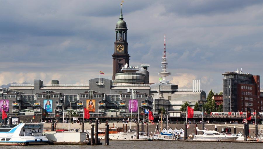 Hamburg Sehenswürdigkeiten: Michel, Portugiesenviertel