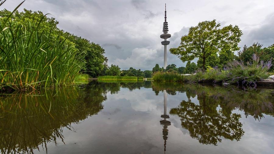 Hamburg Sehenswürdigkeiten: Parkanlage, Fernsehturm