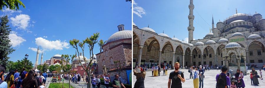 Istanbul Preise: Sultanahmet, Moschee Türkei