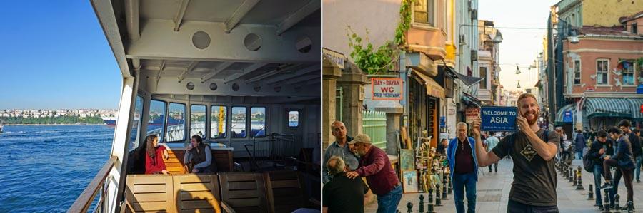 Istanbul Preise: Transport, Fähre, Bosporus