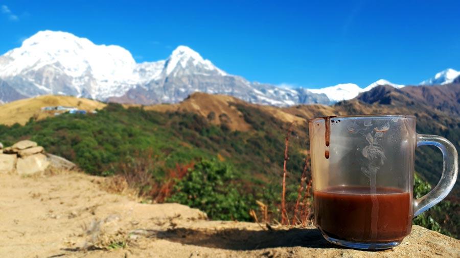 Mardi Himal Trek: Verpflegung, Trekkingtour
